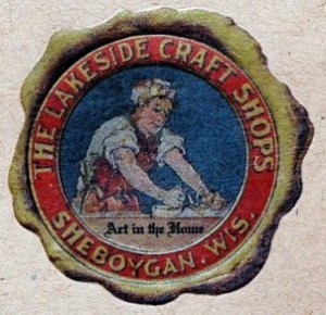 Maker's mark from cover of the reprint of the 1912 catalogue.
