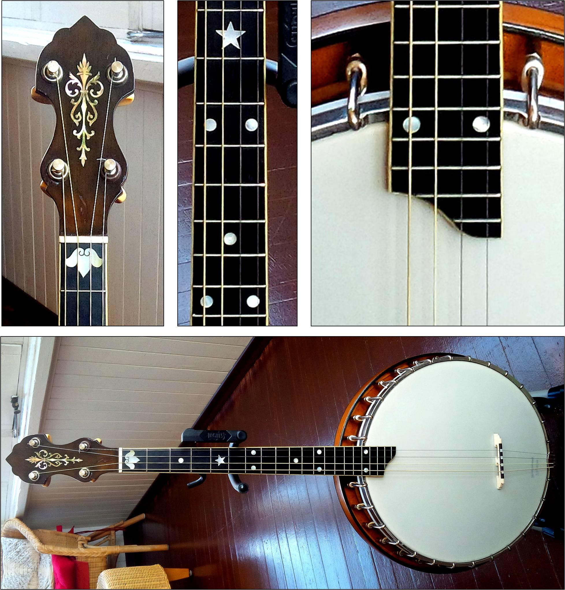 Vega Style M Tenor Banjo   Plus Style X & DeLuxe